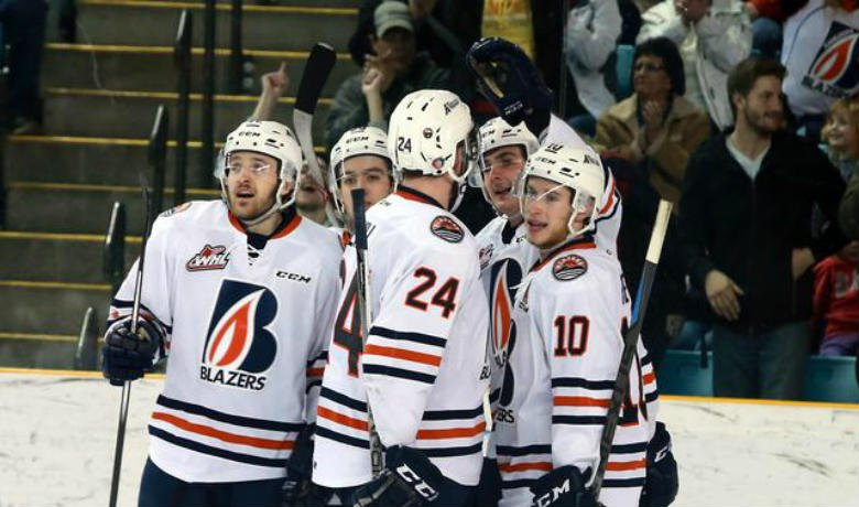 Kamloops received goals from all four lines and Connor Ingram made 27 saves for his fourth shutout of the season, as the Blazers (30-25-5-4) now sit two points up on the Spokane Chiefs (29-25-5-4).