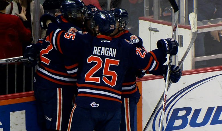 Spokane couldn't overcome an early deficit and fall to Kamloops tonight 3-2.