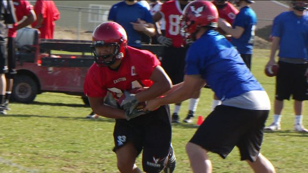 Roughly 60 players are expected to participate in the Eagles spring drills this year (Photo: SWX)