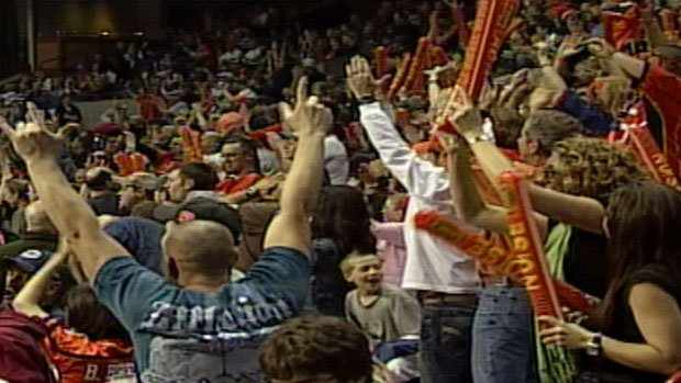 The Shock sent an email to fans, asking them to keep certain noisemakers at home (Photo: SWX)