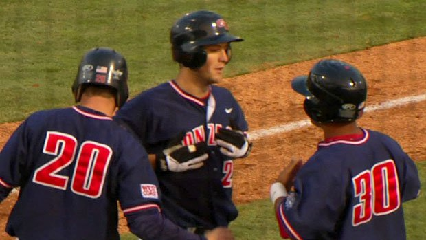 Gonzaga pounded out 17 runs in Tuesday's win over Washington State (Photo: SWX)