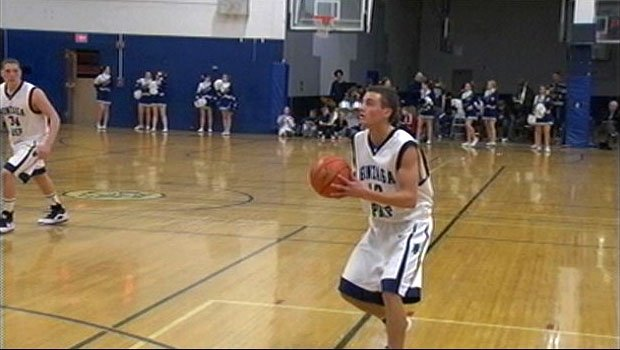 Gonzaga Prep's Sean Fischer led his team to a fourth-place finish at this year's state basketball tournament (Photo: SWX)