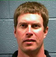 MUGSHOT: Ryan Leaf surrendered to Texas authorities on Friday to face criminal charges.
