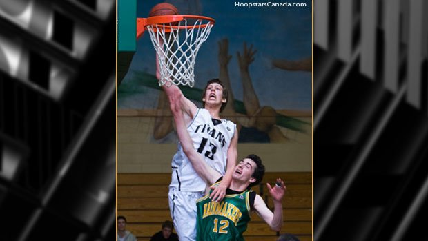 Kelly Olynyk signed a letter of intent to play at Gonzaga last spring (Photo: HoopstarsCanada.com)