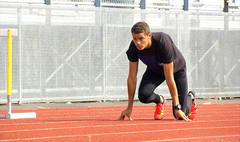 Khalil Winfrey of Rogers High School has one of the top 100m times in the state, and looks to prove just host fast he is this weekend.
