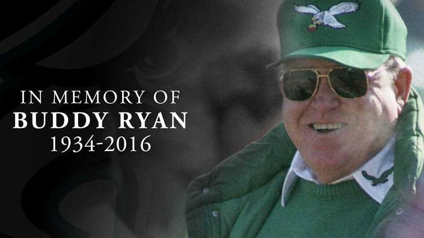 RIP Buddy Ryan (PHOTO: Philadelphia Eagles/Facebook)