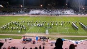 The Eagle Marching band has performed around the Northwest, at half-time shows for the Seattle Seahawks NFL team and for teams in the Canadian Football League.(Photo: EWU)