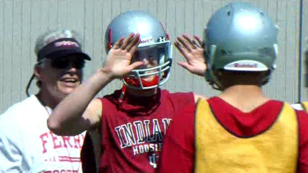 The Saxons will be led this fall by senior quarterback Connor Halliday, who has committed to play football at Washington State next year (Photo: SWX)