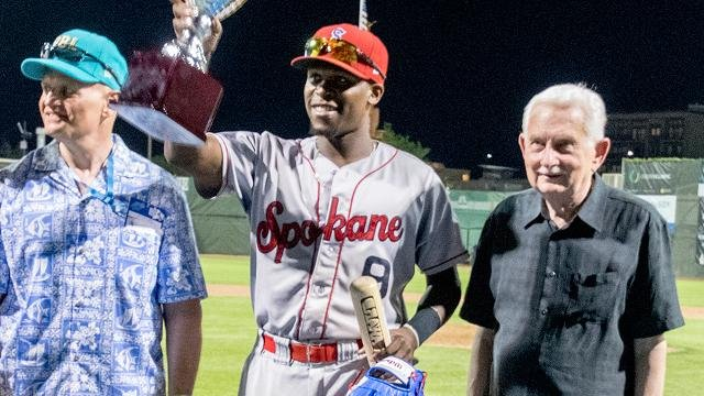 Xavier Turner went 3-for-3 and took home MVP honors in the 2016 NWL vs. PBL All-Star game
