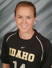 Chelsea Small (Photo: Univ. of Idaho Athletics)