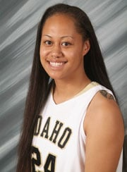 Derisa Taleni (Photo: Univ. of Idaho Athletics)
