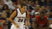 Elias Harris scored 18 points and grabbed seven rebounds for the Zags (Photo: SWX)