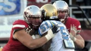 Washington St. had particular difficulty keeping its offensive line healthy this season (Photo: WSU Athletics)