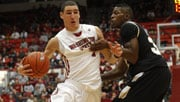Klay Thompson, the second-leading scorer in the nation, scored 25 against Idaho (Photo: WSU Athletics)