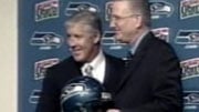 Pete Carroll was introduced as the Seahawks head coach at a news conference in Renton on Tuesday.