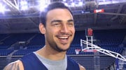 GU's Robert Sacre says the Saints will win the Super Bow - hands down (Photo: SWX)