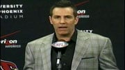 Kurt Warner announced he would retire from football after playing 12 years in the NFL