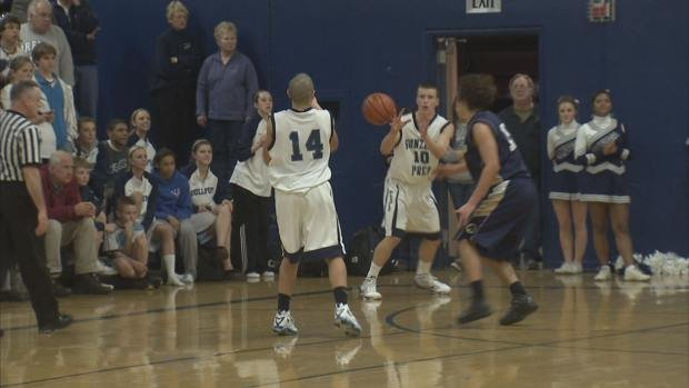 Parker Kelly hit back-to-back three-pointers to put the game out of reach (SWX)