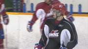 Klye Beach (pictured) and Mitch Wahl were named to the WHL's All-Star First Team on Thursday (Photo: SWX)