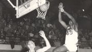 Gus Johnson (right) played for Idaho during the 1962-63 season and still holds the single-season records for rebounds (Photo: Univ. of Idaho Athletics)