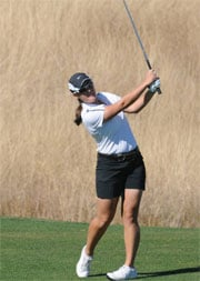 Idaho's Amanda Jacobs was in second place in the WAC championship after shooting a 2-over 73 (Photo: Univ. of Idaho Athletics)