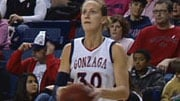 Heather Bowman, the leading scorer in Gonzaga history, was invited to the Seattle Storm's training camp on Apr. 25 (Photo: SWX)