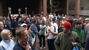 Hundreds of runners gathered in downtown Spokane on Thursday for a pre-Bloomsday tune-up run (Photo: KHQ)