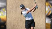 Idaho's Kayla Mortellaro led Idaho with a round of 74 at the NCAA West Regional Golf Tournament in Stanford, Calif. (Photo: Univ. of Idaho Athletics)