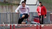 Eastern Washington's Sarah Frey qualified for the finals of the 400-meter hurdles (Photo: EWU Athletics)