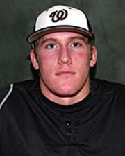 Landon Scott is the Northwest Conference batting champion for the 2010 season (Photo: Whitworth Athletics)