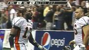 Huey Whittaker celebrates the Shock win over Orlando (Photo: SWX, BHSN)