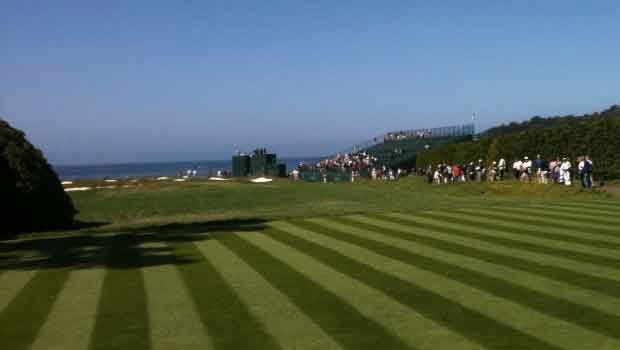 View from the 17th hold at Pebble Beach (Photo: KION, SWX)