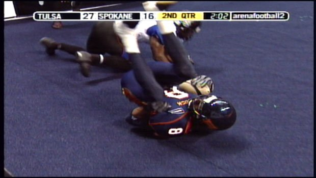 The Talons lost to Spokane last year in the af2 National Conference Championship game (Photo: Aug. 22, 2009 / SWX)