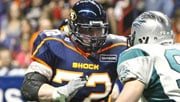 Offensive lineman Rob McMackin was taken off of Injured Reserve and is eligible to play this weekend (Photo: Spokane Shock)