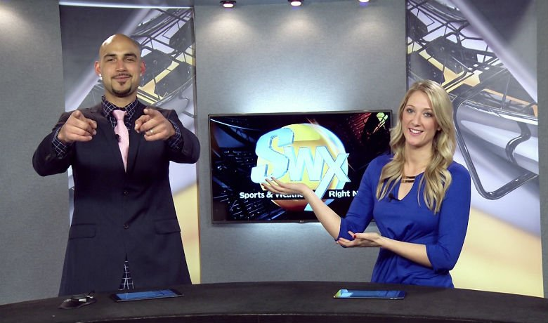 Robert Sacre Joins Swx Tonight Nbc Right Now Kndo Kndu