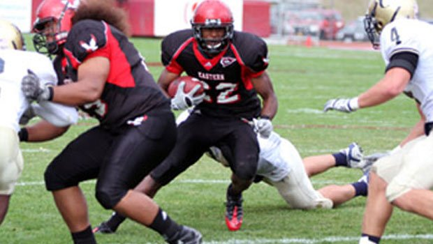 Taiwan Jones was one of 6 players from the Big Sky named to The Sports Network's Preseason All-America team (Photo: EWU Athletics)
