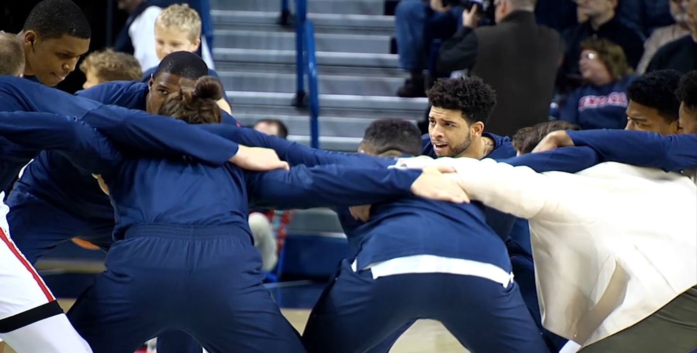 Zags remain at #5 in latest AP Top 25 Poll