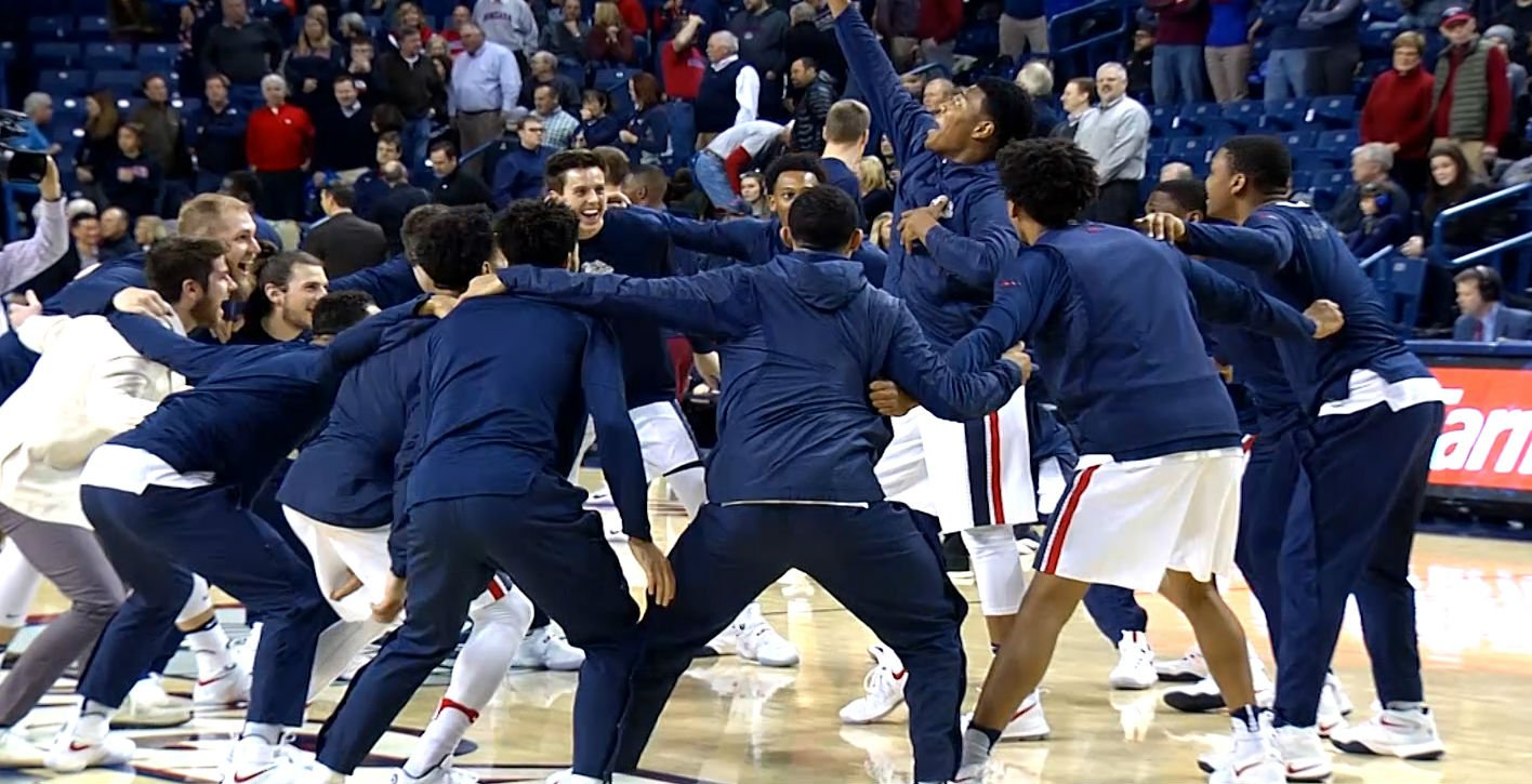 Zags Move Up To #3 In AP Top 25