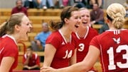 Two starters return to this year's EWU volleyball team, including Jacque Brown and Chenoa Coviare (Photo: EWU Athletics)