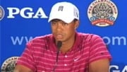 Tiger Woods said he feels more sadness than relief.