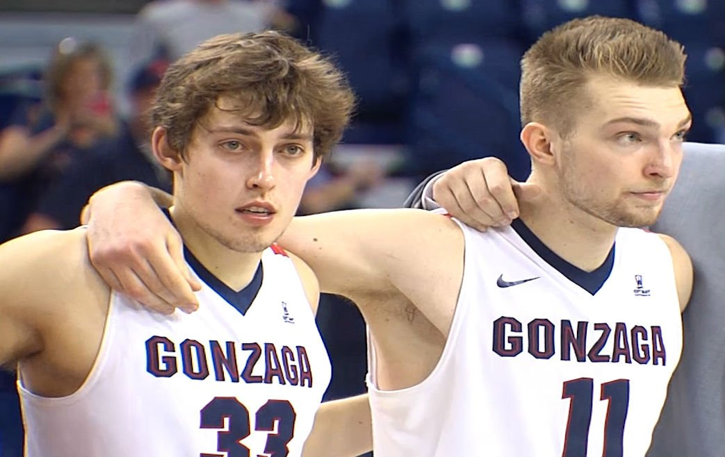 Wiltjer and Sabonis Together As Zags