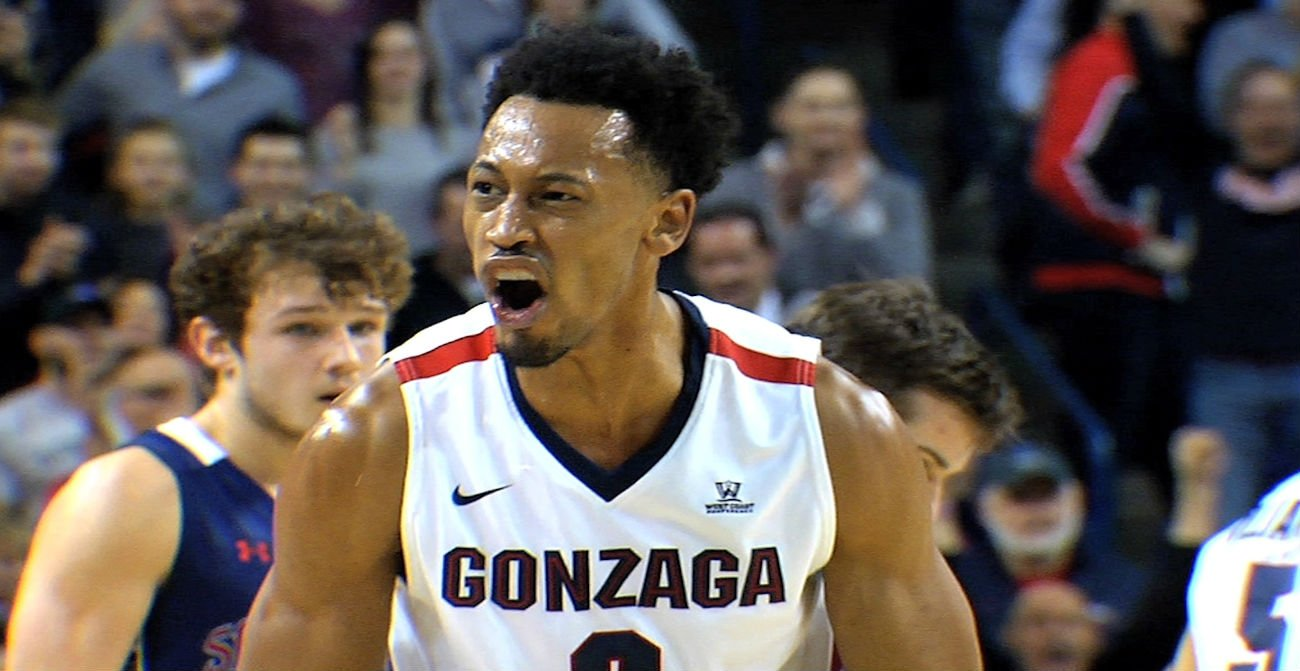 Williams Averages 10.6 PPG This Season For Gonzaga
