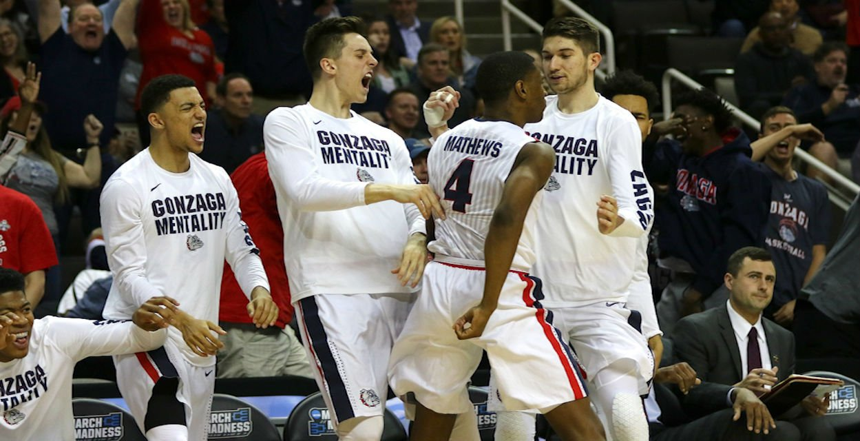 Gonzaga Heads To 3rd Ever Elite 8