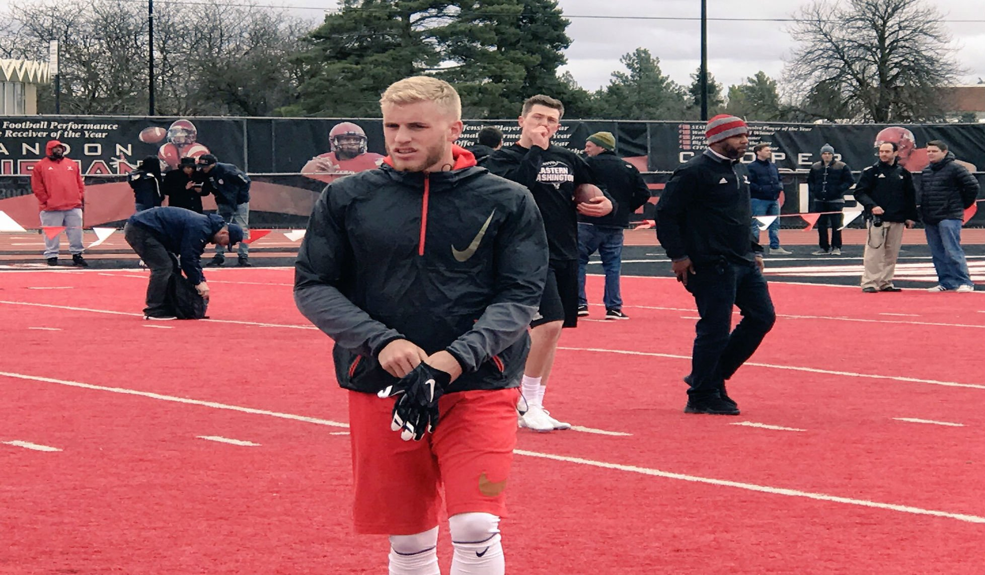 Three Receivers Featured In EWU's Pro Day