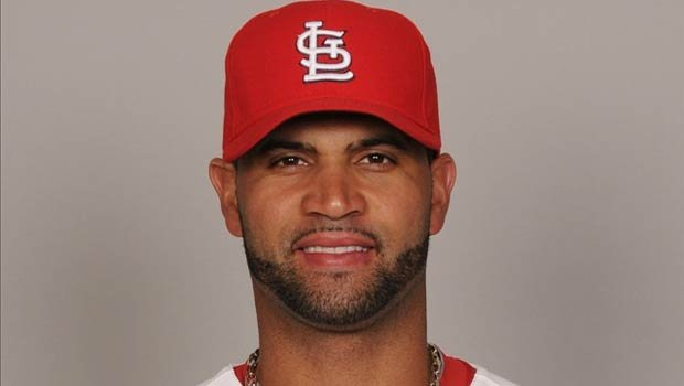 Albert Pujols said he hopes to remain a Cardinal for the rest of his career (Photo: MLB)
