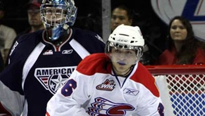 The Chiefs and Ams play Monday night in a makeup game from earlier in the season (Photo: Spokane Chiefs)