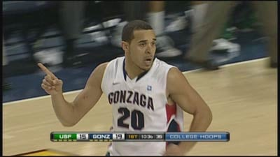"Gonzaga's Elias Harris said he's feels ""confident"" his team can beat Saint Mary's on Thursday (Photo: SWX)"