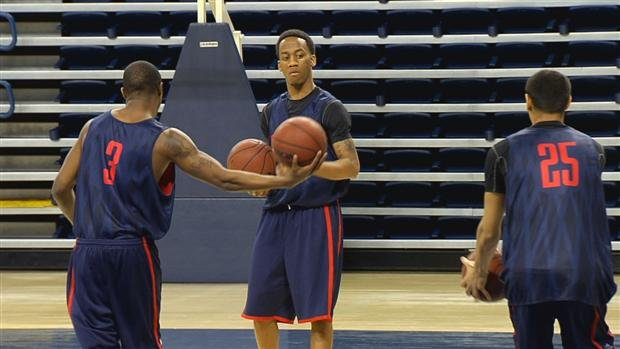 Marquise Carter has played a big part in GU's recent success