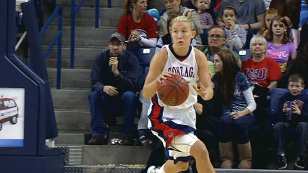 Courtney Vandersloot, taken No. 3 in the WBNA Draft, will throw out the first pitch at Sunday's Mariners game in Seattle (Photo: SWX)