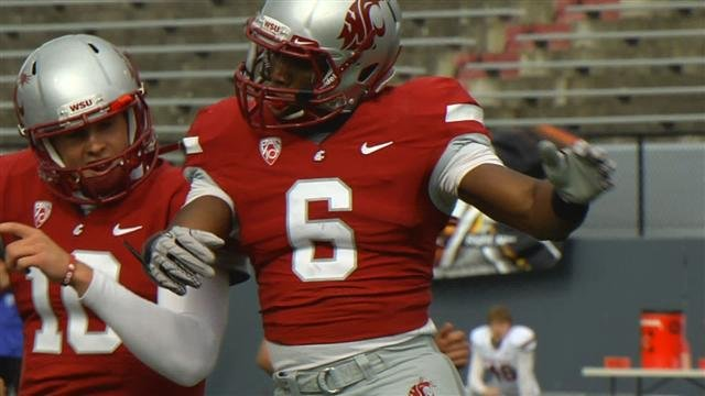 A mere 4,000 fans showed up at Spokane's Joe Albi Stadium this spring to watch the annual Crimson & Gray game (Photo: SWX)